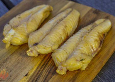 Gerookte zeeduivel filet