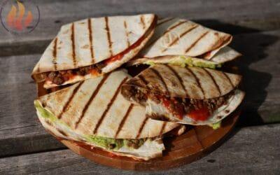 Tortilla-tosti Tex-Mex vega
